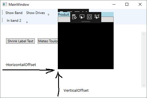 Popup offset WPF