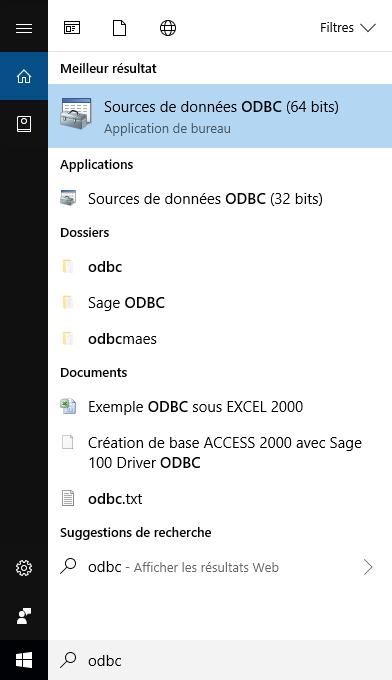php odbc windows